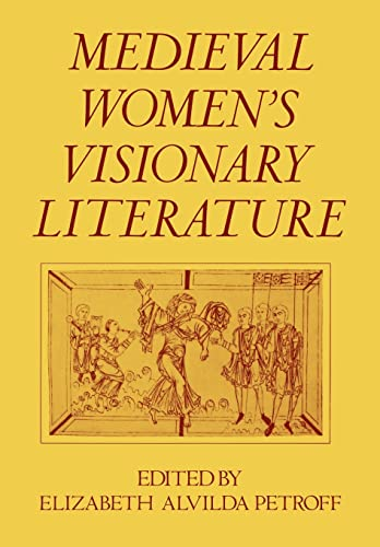 9780195037128: Medieval Women's Visionary Literature