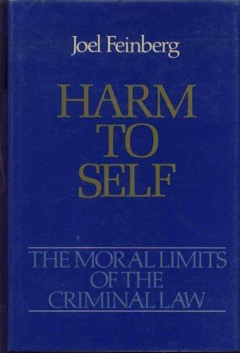 9780195037463: Harm to Self