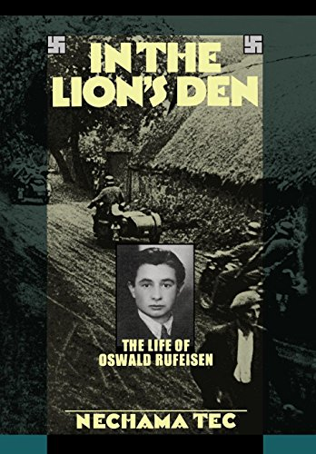 9780195039054: In the Lion's Den: The Life of Oswald Rufeisen