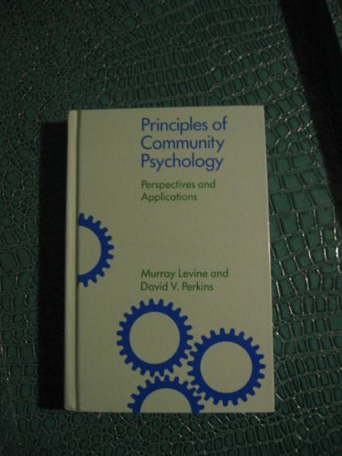9780195039467: Community Psychology: Perspectives and Applications