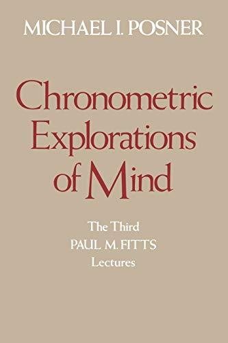 9780195039993: Chronometric Explorations of Mind