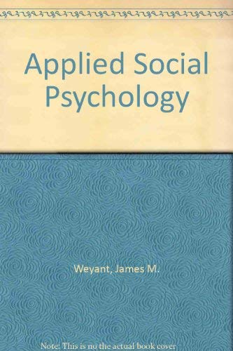 9780195040739: Applied Social Psychology
