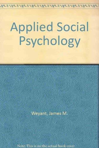 9780195040739: Applied Social Psychology