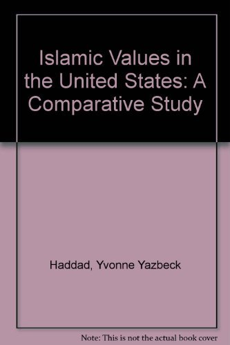 Islamic Values in the United States A Comparative Study