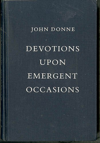 Devotions upon Emergent Occasions (0195041747) by Donne, John; Raspa, Anthony