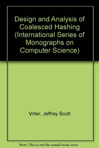 9780195041828: Design and Analysis of Coalesced Hashing