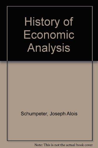 9780195041859: History of Economic Analysis