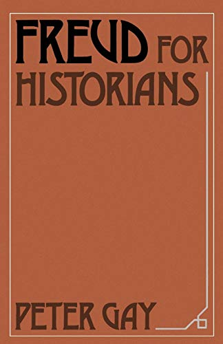 9780195042283: Freud for Historians (Oxford Paperbacks)