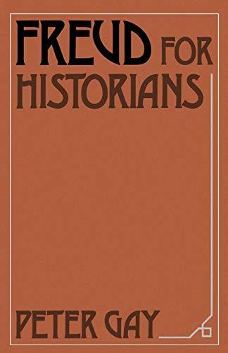 9780195042283: Freud for Historians (Oxford Paperbacks)
