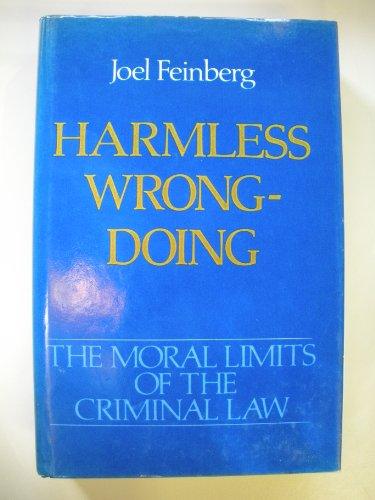 9780195042535: Harmless Wrongdoing
