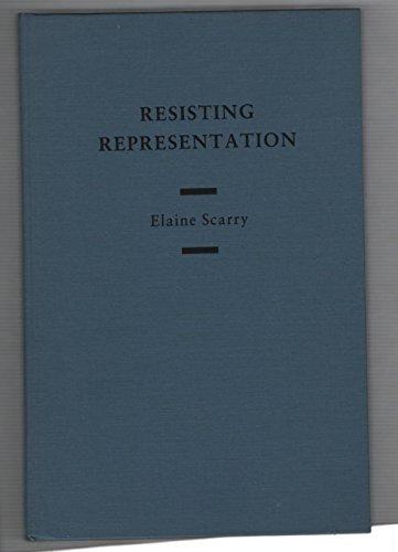 9780195042702: Resisting Representation