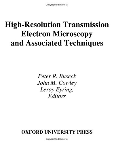 9780195042757: High-Resolution Transmission Electron Microscopy: and Associated Techniques
