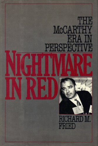 9780195043600: Nightmare in Red: McCarthy Era in Perspective