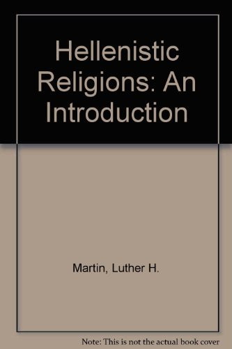 9780195043907: Hellenistic Religions: An Introduction