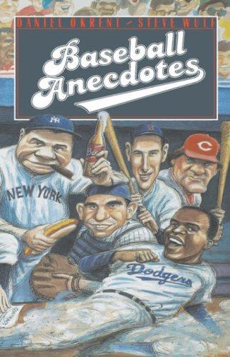 9780195043969: Baseball Anecdotes