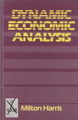 9780195044065: Dynamic Economic Analysis