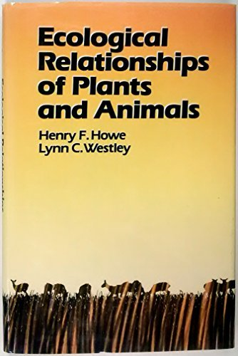 9780195044317: Ecological Relationships of Plants and Animals