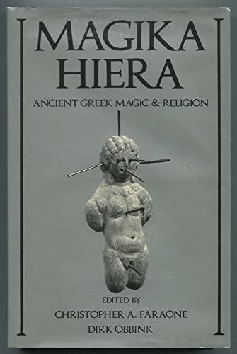 9780195044508: Magika Hiera: Ancient Greek Magic and Religion