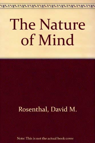 9780195046700: The Nature of Mind
