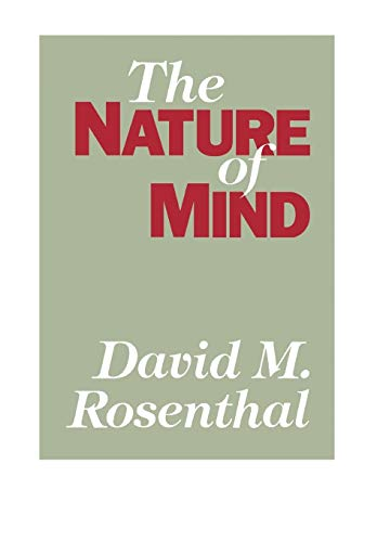 The Nature of Mind: Rosenthal, David M.