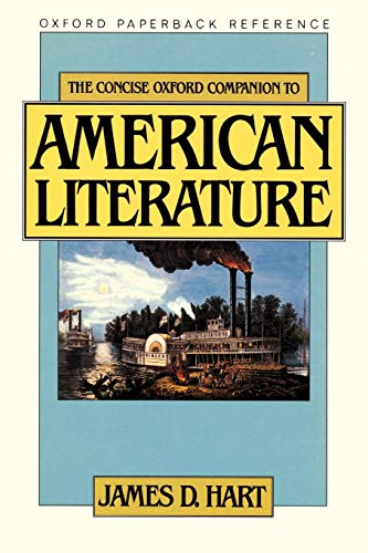 9780195047714: The Concise Oxford Companion to American Literature (Oxford Paperback Reference)