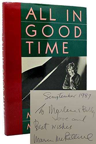 All in Good Time: McPartland, Marian