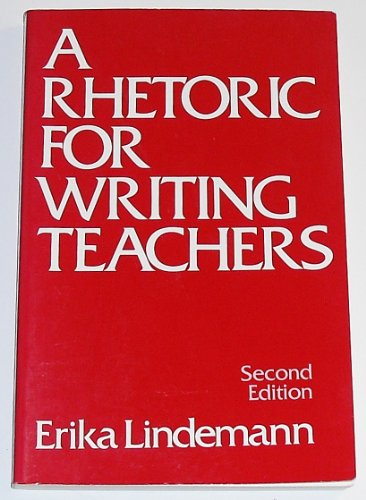 9780195048896: A Rhetoric for Writing Teachers