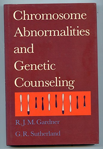 9780195049329: Chromosome Abnormalities and Genetic Counseling