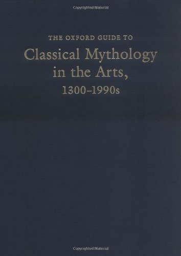 9780195049985: The Oxford Guide to Classical Mythology in the Arts, 1300-1900s