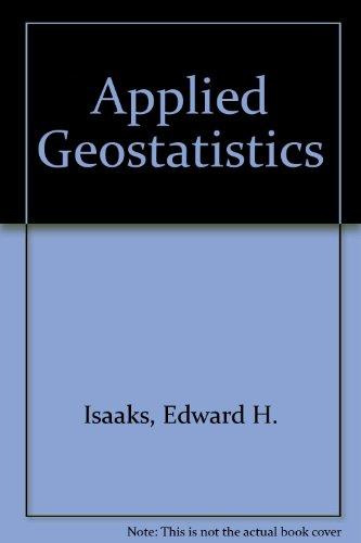 9780195050127: Applied Geostatistics