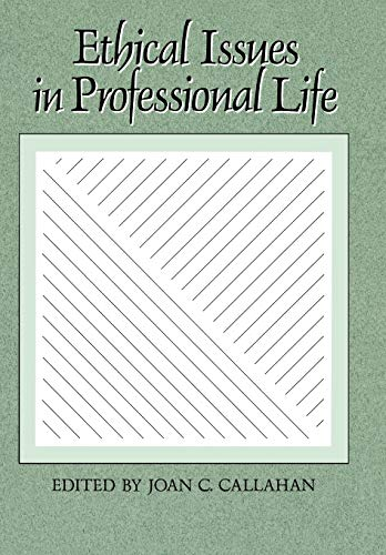 9780195050264: Ethical Issues in Professional Life