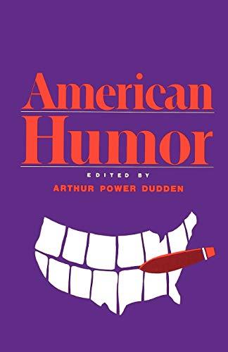 9780195050547: American Humor