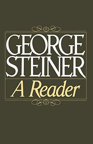 9780195050684: George Steiner: A Reader