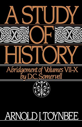 9780195050813: A Study of History: Volume II: Abridgement of Volumes VII-X