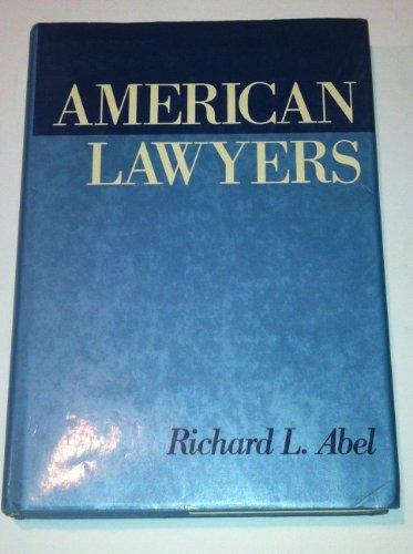 9780195051407: American Lawyers