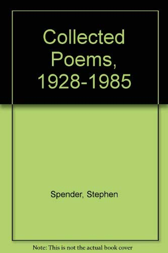 9780195052107: Collected Poems, 1928-1985 (Oxford paperbacks)