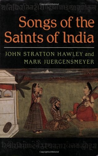 9780195052213: Songs of the Saints of India