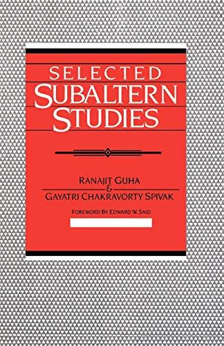 9780195052893: Selected Subaltern Studies