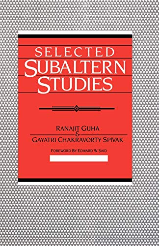 9780195052893: Selected Subaltern Studies (Essays from the 5 Volumes and a Glossary)