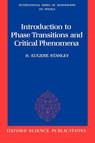 9780195053166: Introduction to Phase Transitions and Critical Phenomena (International Series of Monographs on Physics)