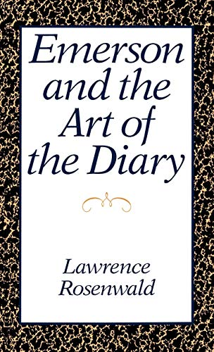 9780195053333: Emerson and the Art of the Diary