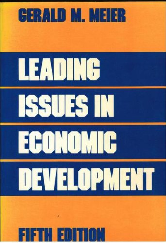 9780195055726: Leading Issues in Economic Development