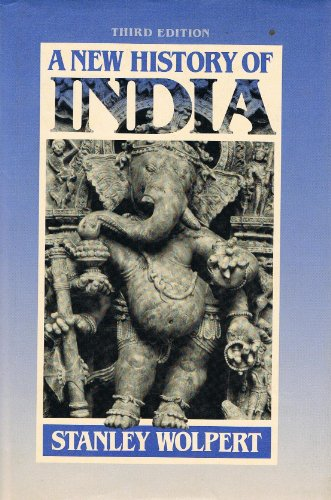 A New History of India: Wolpert, Stanley A.