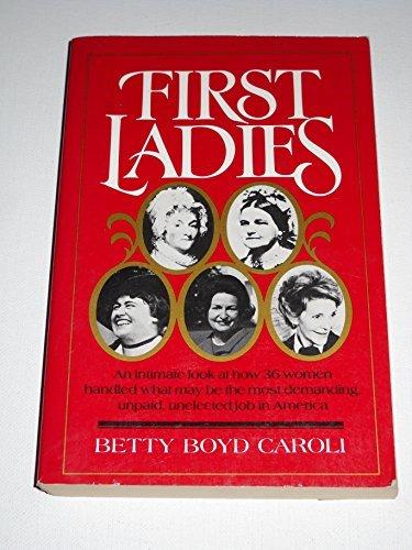 9780195056549: First Ladies