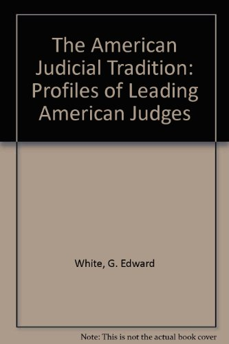 9780195057263: The American Judicial Tradition: Profiles of Leading American Judges (Oxford paperbacks)