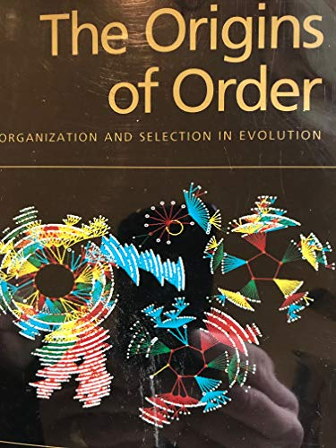 9780195058116: The Origins of Order: Self Organization and Selection in Evolution