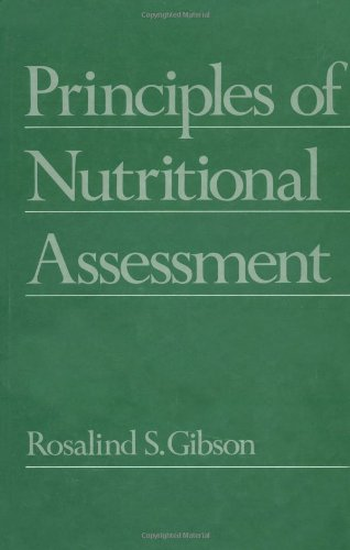 9780195058383: Principles of Nutritional Assessment