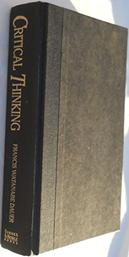 Critical Thinking: An Introduction to Reasoning: Dauer