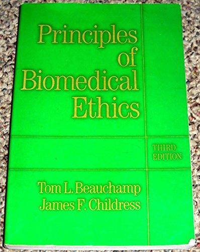 9780195059014: Principles of Biomedical Ethics