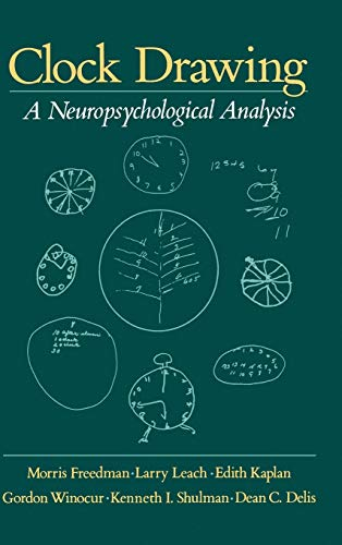 9780195059069: Clock Drawing: A Neuropsychological Analysis